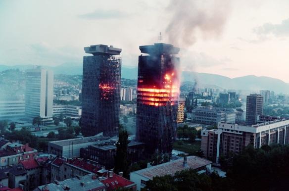 sarajevo-burning